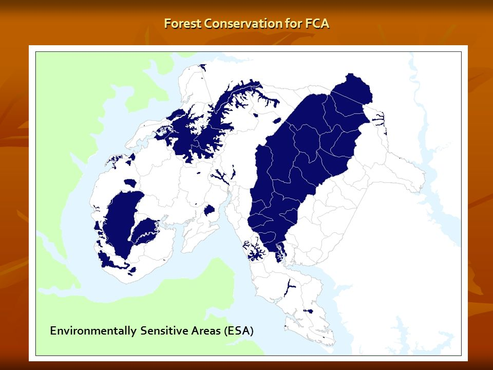 Forest Conservation for FCA Environmentally Sensitive Areas (ESA)