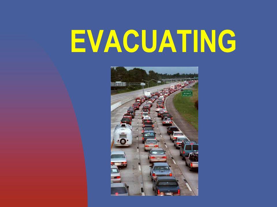 EVACUATING