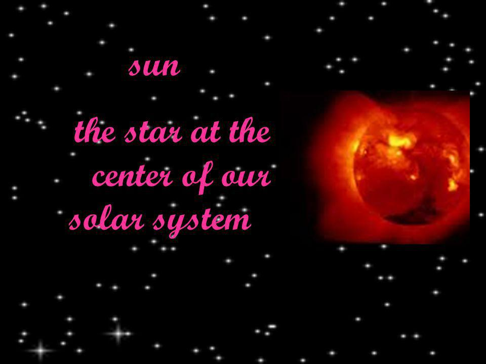 sun the star at the center of our solar system