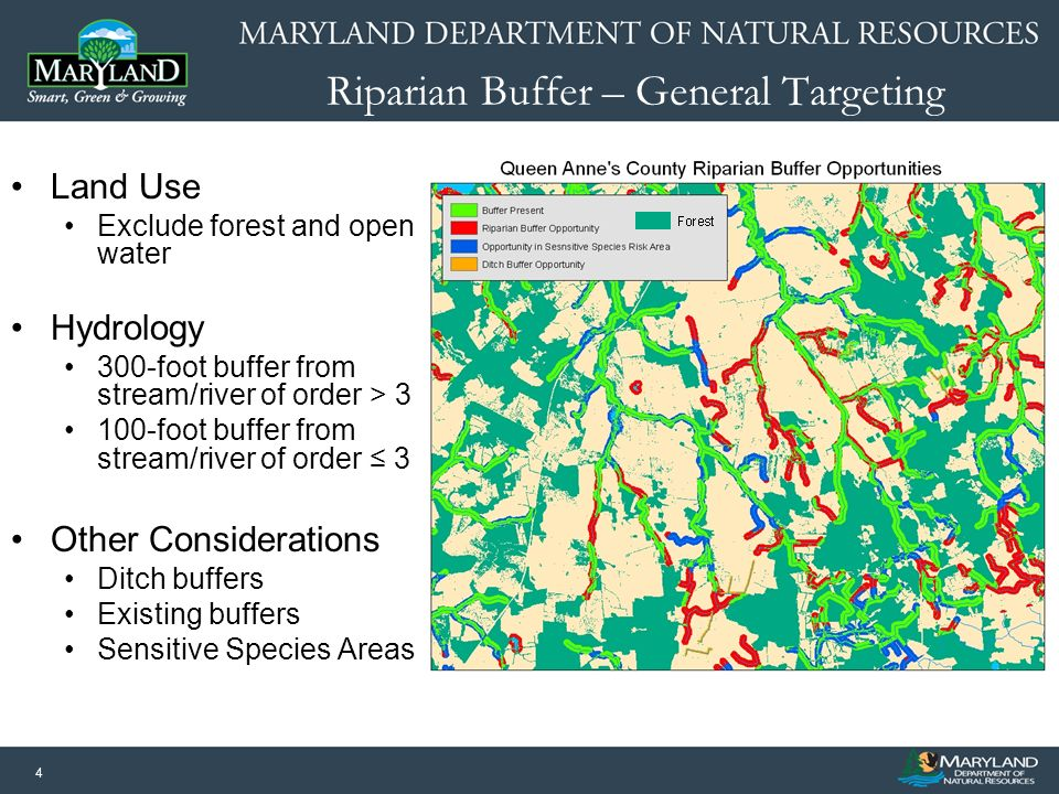 15 Next Steps: Data Sharing Watershed Resources Registry (WRR) –A GIS-based targeting tool that prioritizes conservation, restoration, and stormwater management opportunities (rated 1 – 5) –Overlap with wetland restoration and riparian buffer BMP targeting –Opportunities for integration of water quality and climate change factors during WRR update
