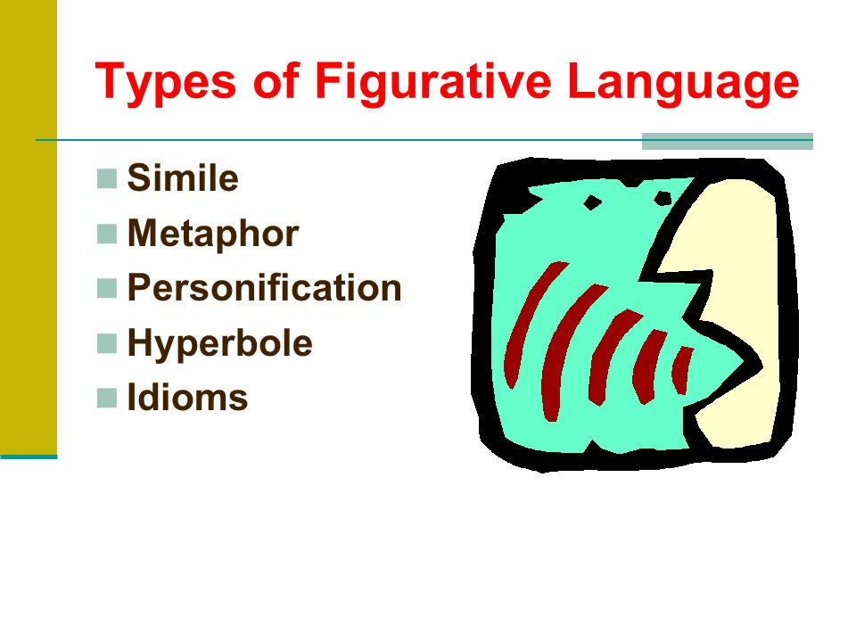 What is figurative language? Whenever you describe something by comparing it with something else, you are using figurative language.