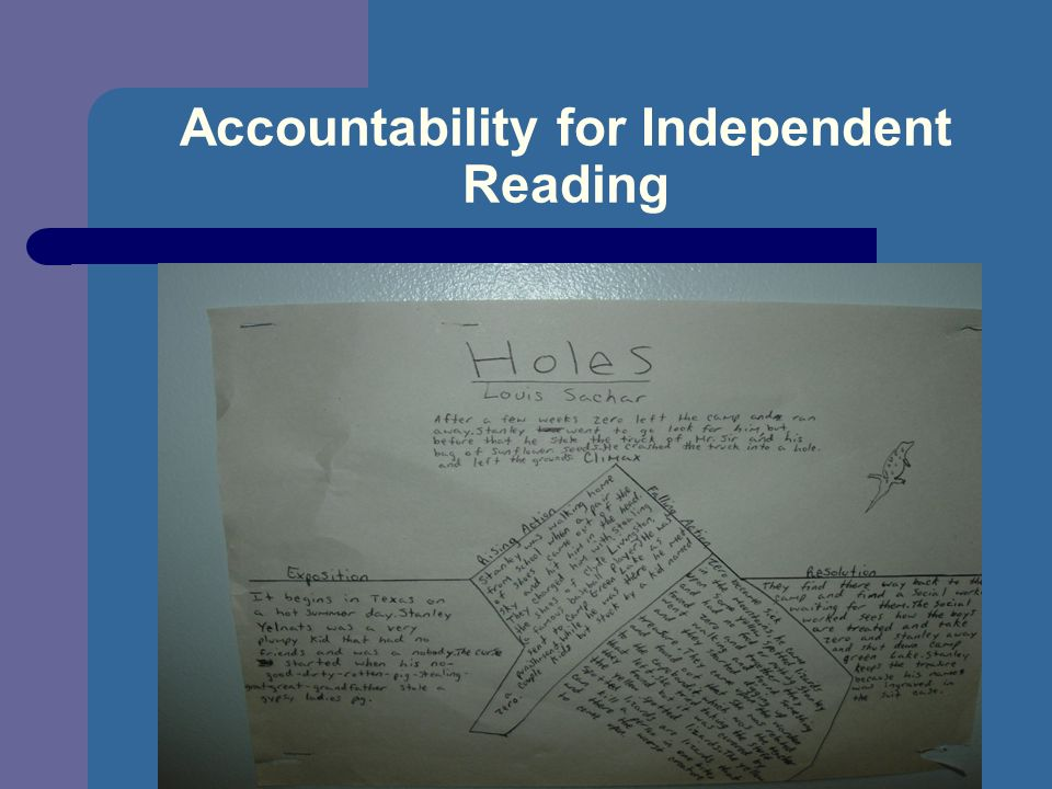 Accountability for Independent Reading