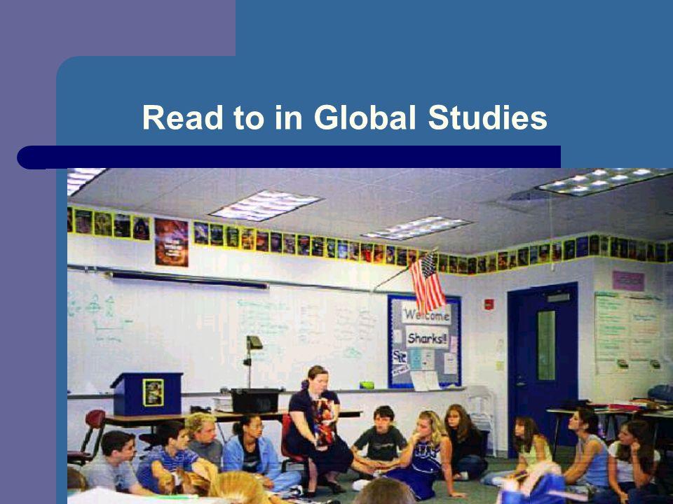 Read to in Global Studies