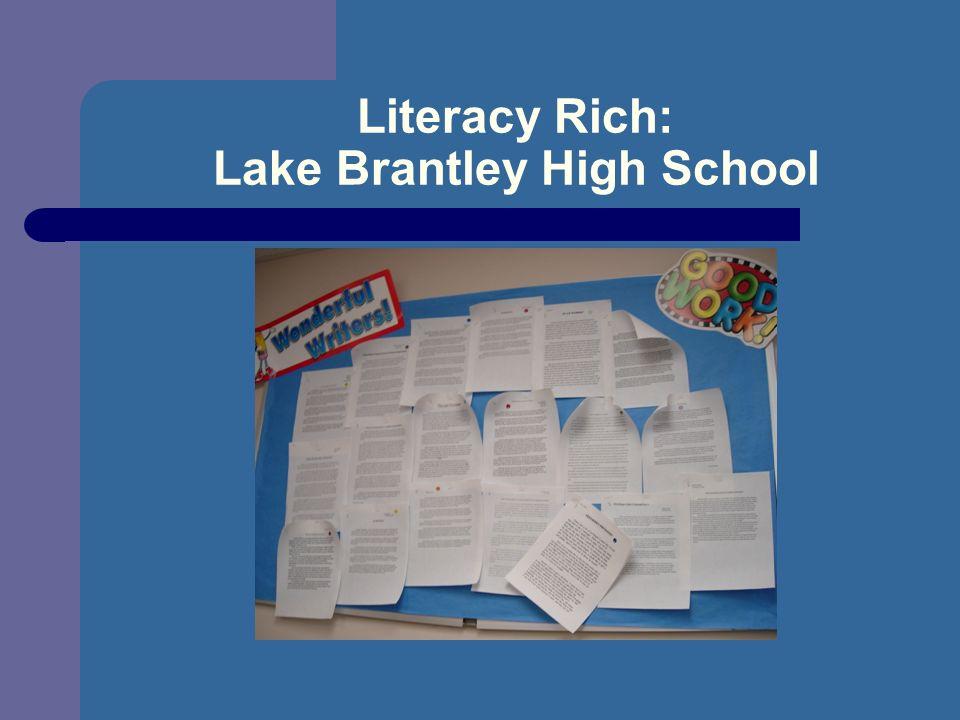 Literacy Rich: Lake Brantley High School