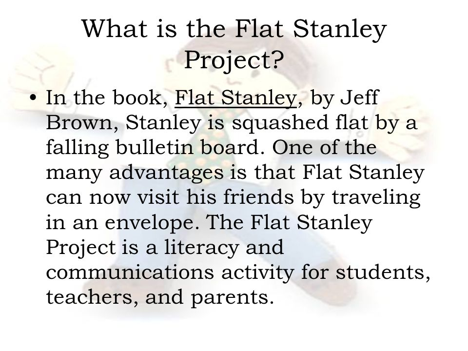 What is the Flat Stanley Project.