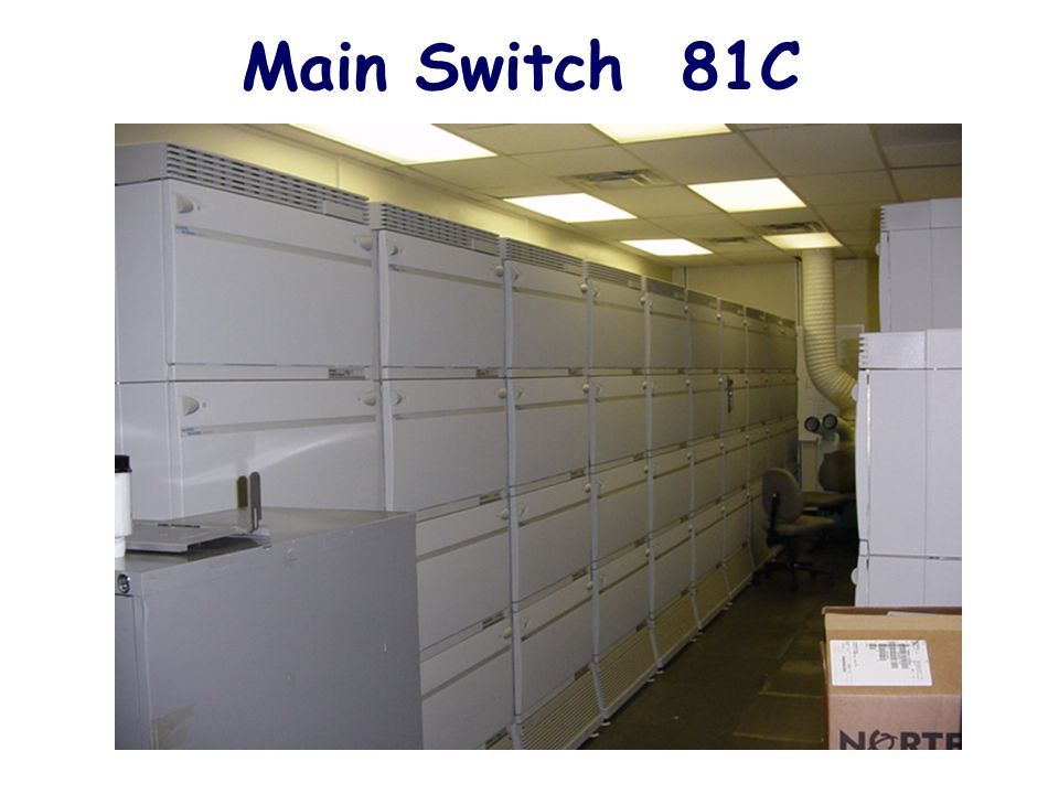 Main Switch 81C