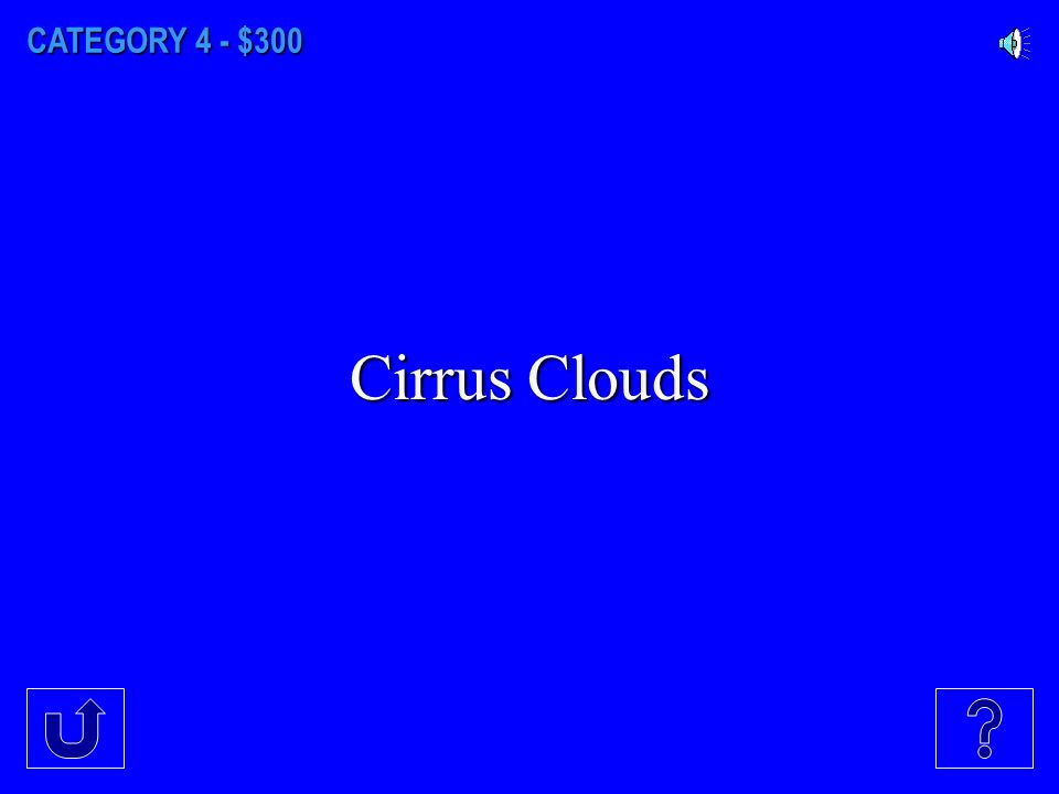 CATEGORY 4 - $200 Cumulus clouds