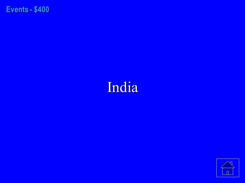 Events - $300 Bangladesh