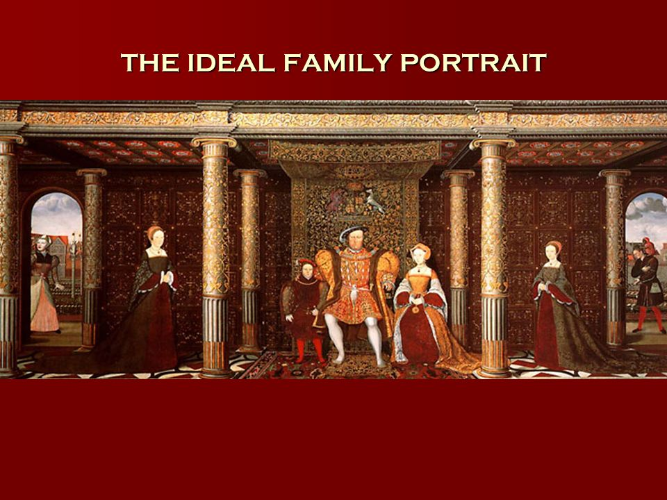 THE IDEAL FAMILY PORTRAIT