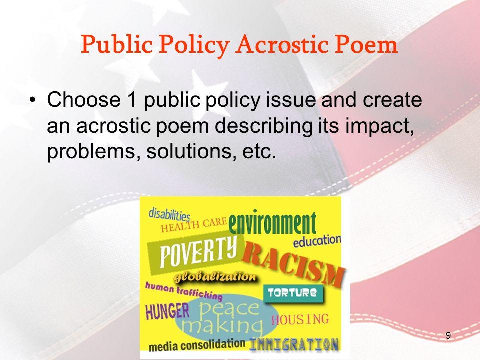 Establish local governments POLITICAL/LEGAL Civics: Government and Economics in Action 30