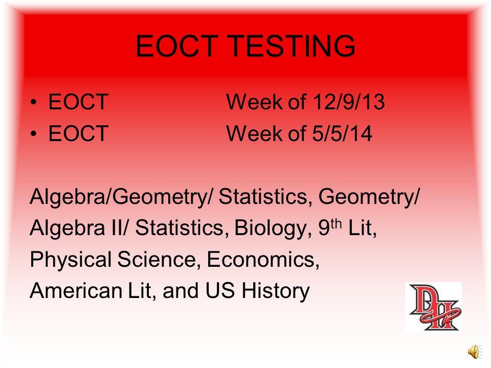 GA High School Writing Test Writing TestSeptember 25-26 Make Up Writing TestFeb. 26-27