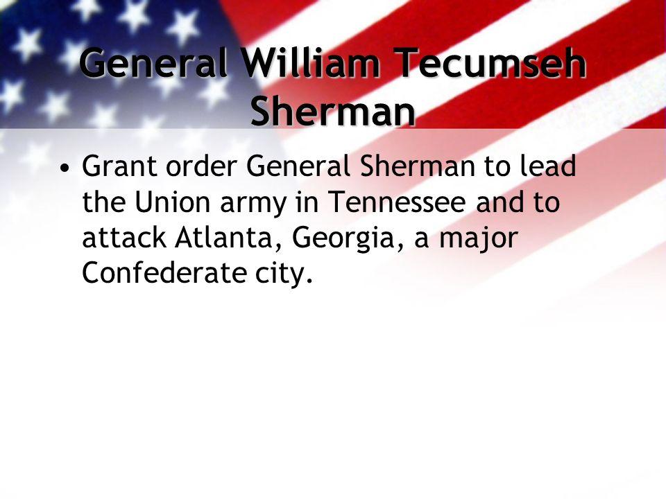 The Atlanta Campaign Attack began on Atlanta in May 1864.