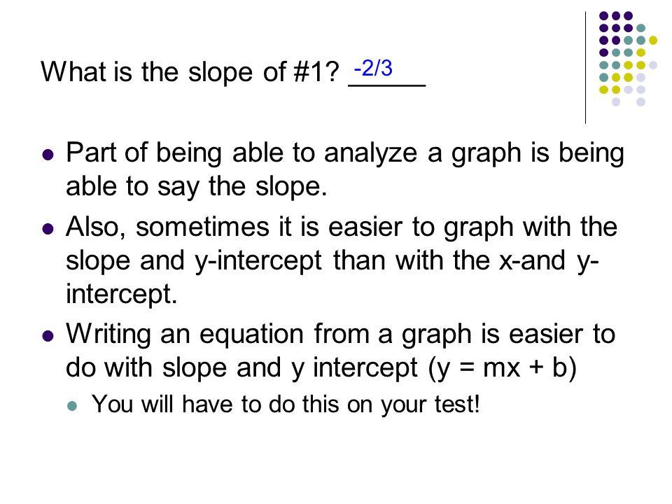 Convert StandardSlope-Intercept Steps: 1.Subtract Ax 2.