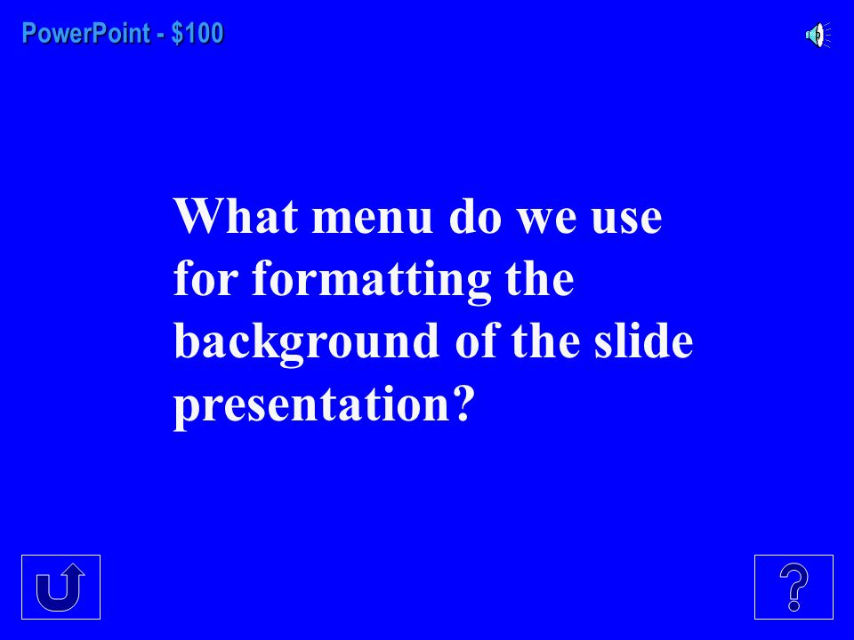 PowerPoint InternetShortcutsWindows $100 $300 $200 $400 $500