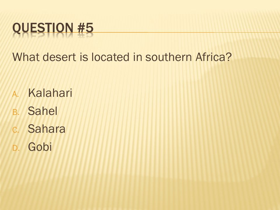 Located in Africa, what is the worlds longest river? A. Niger B. Rhine C. Congo D. Nile
