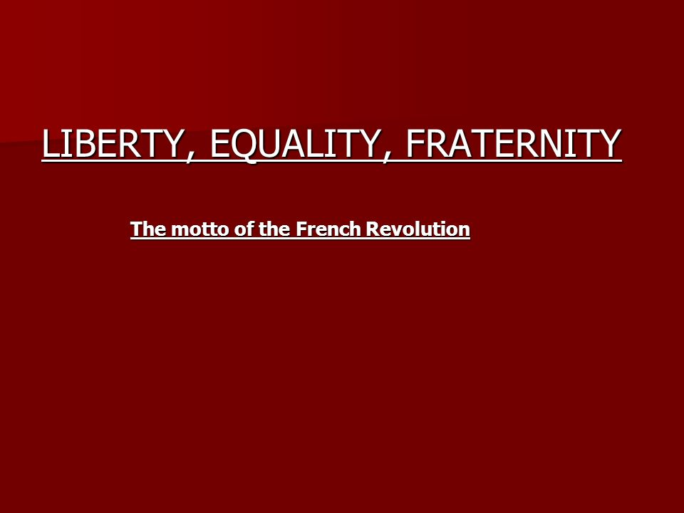 Revolution of Politics The era of revolutions began in North America in 1775 The era of revolutions began in North America in 1775 No country felt the consequences of the American Revolution more than France No country felt the consequences of the American Revolution more than France The French government gave direct aid to the American Colonies – both financially and militarily The French government gave direct aid to the American Colonies – both financially and militarily Hundreds of French officers served in America and were inspired by the experience Hundreds of French officers served in America and were inspired by the experience