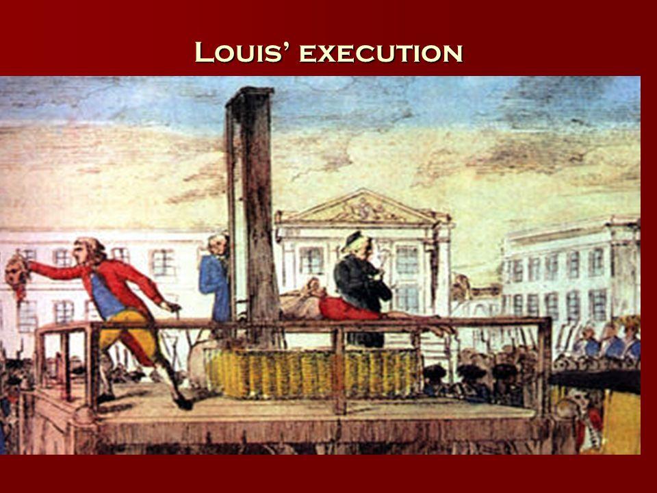 Louis execution