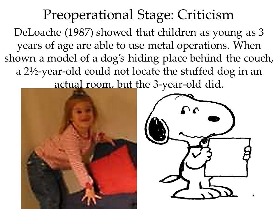 29 Egocentrism Piaget concluded that preschool children are egocentric.