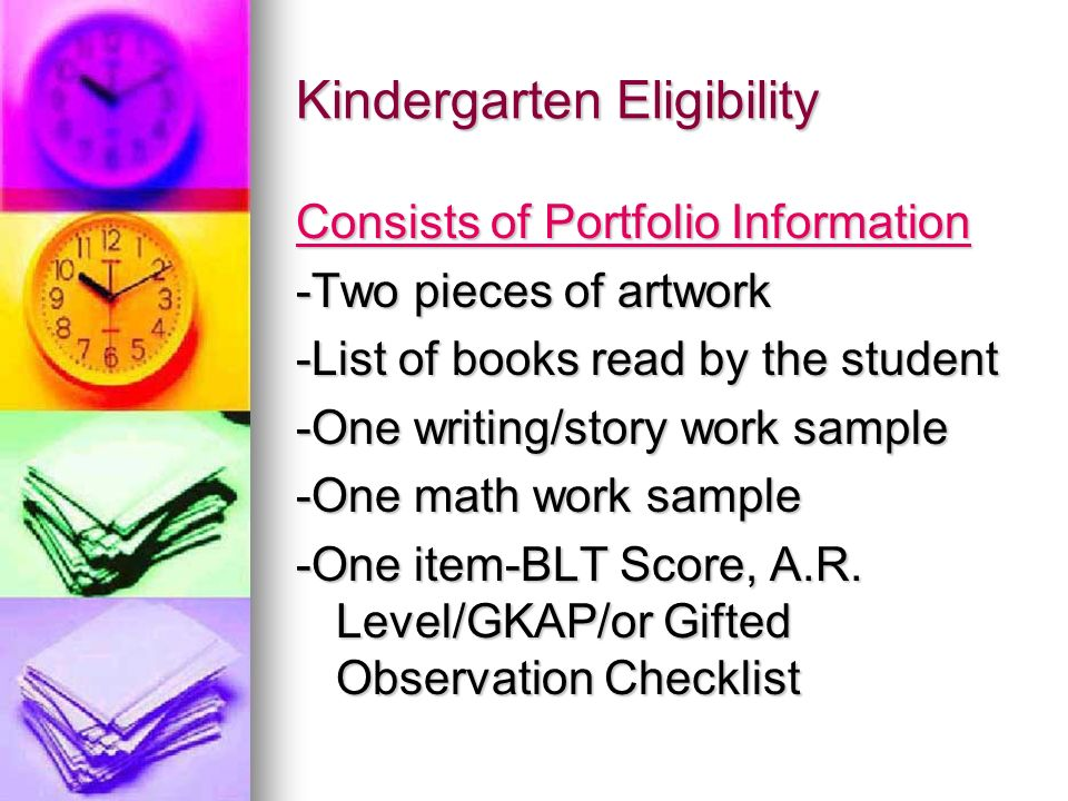 Placement in a Gifted Class Qualification based upon the eligibility process Qualification based upon the eligibility process A signed PCE (Parent Consent to Evaluate) form-if additional testing is needed for the Step II A signed PCE (Parent Consent to Evaluate) form-if additional testing is needed for the Step II Program for Gifted Newsletter sent home to the parents Program for Gifted Newsletter sent home to the parents Placement in Discovery (Elementary School) or Impact (Middle and High School) Placement in Discovery (Elementary School) or Impact (Middle and High School)