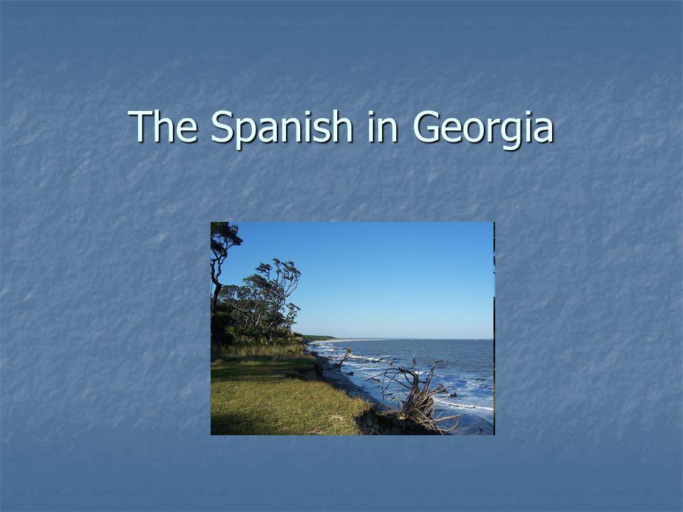 The Spanish in Georgia