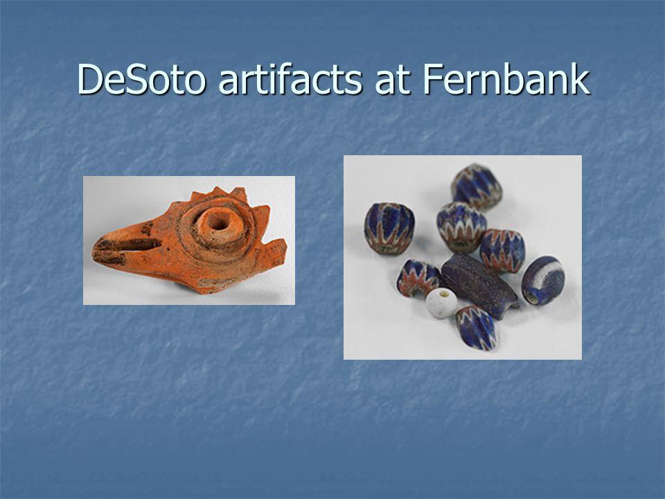 DeSoto artifacts at Fernbank