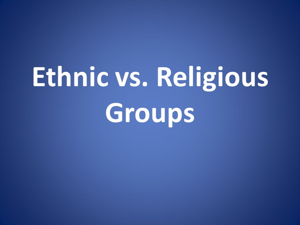The Middle East is home to different ethnic and religious groups.