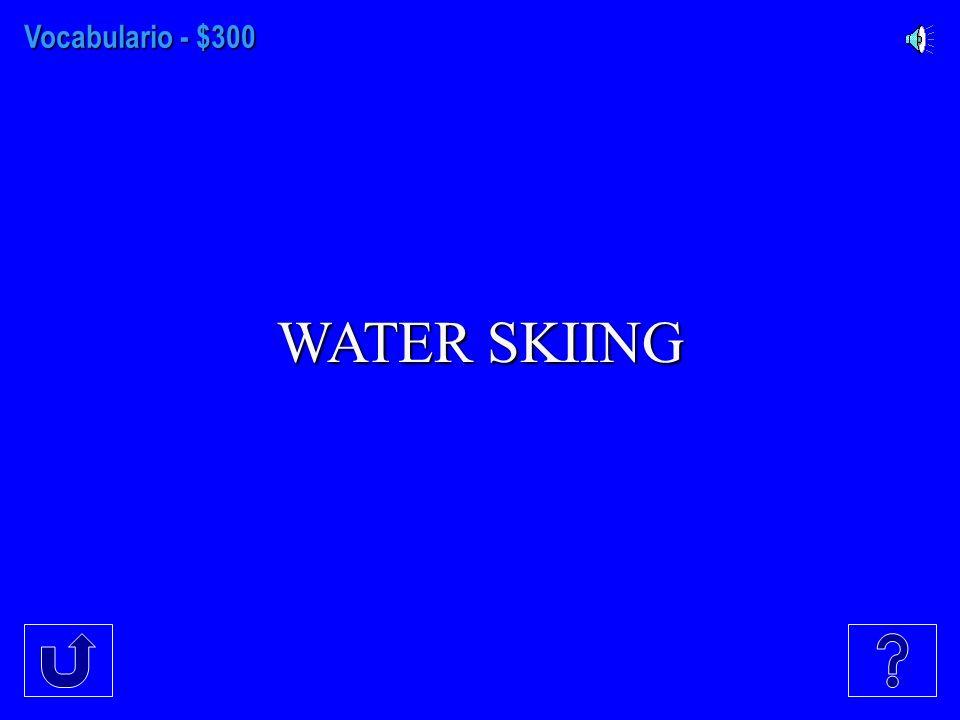 Vocabulario - $200 SISTER