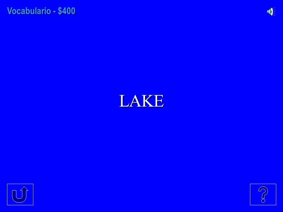 Vocabulario - $300 WATER SKIING