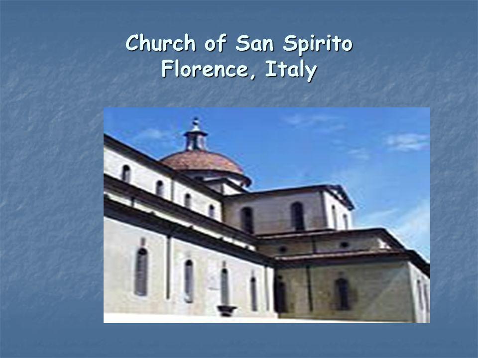 Church of San Spirito Florence, Italy