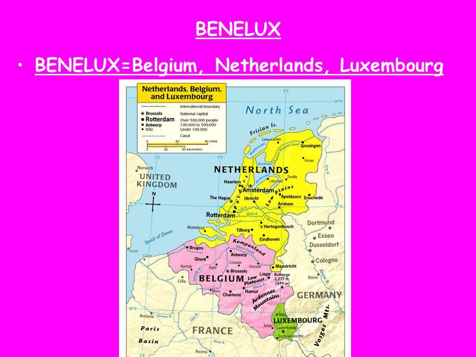 BENELUX BENELUX=Belgium, Netherlands, Luxembourg