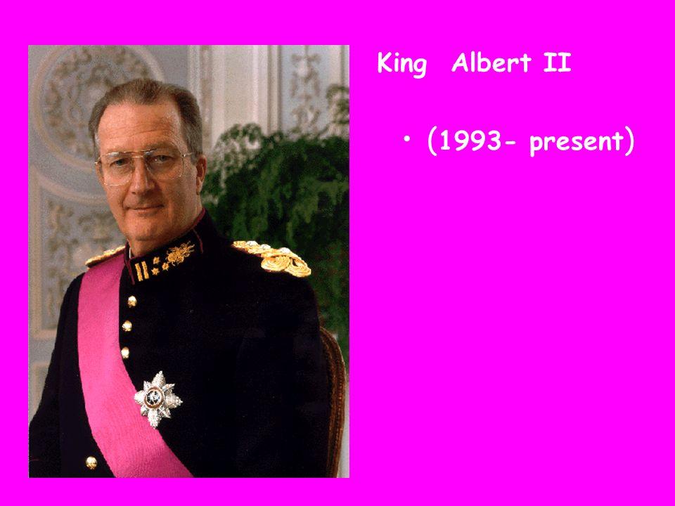 King Albert II ( 1993- present )