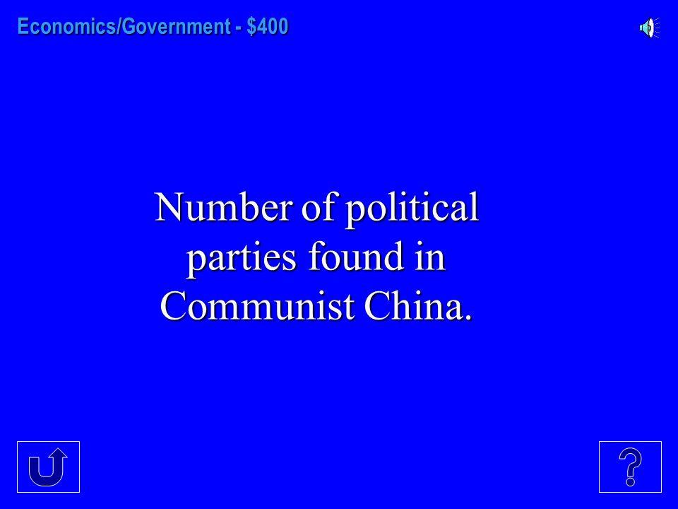 Economics/Government - $300 Name of legislative branch in Japan