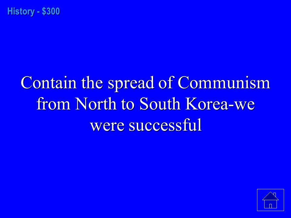 History- $200 The U.S