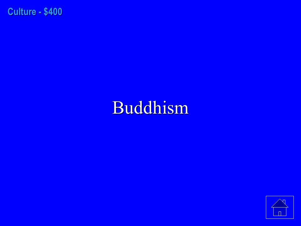 Culture- $300 Confucius