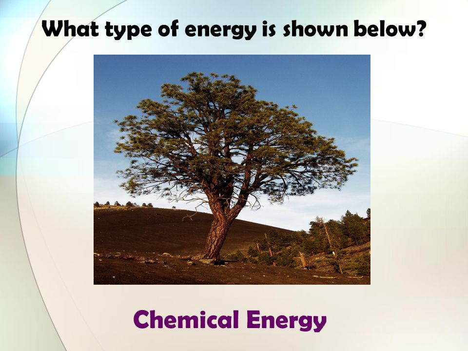 What types of energy are shown below? Mechanical and Thermal Energy (Dont forget friction)