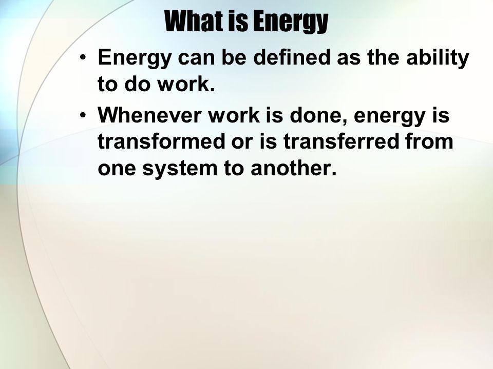 Kinetic & Potential Energy Energy of motion Formula: KE = ½ mv² KE = kinetic energy (J) m = mass (kg) v = velocity (m/s) Energy of position or stored energy Formula: PE = mgh PE = potential energy (J) m = mass (kg) g = gravity (m/s²) h = height (m)