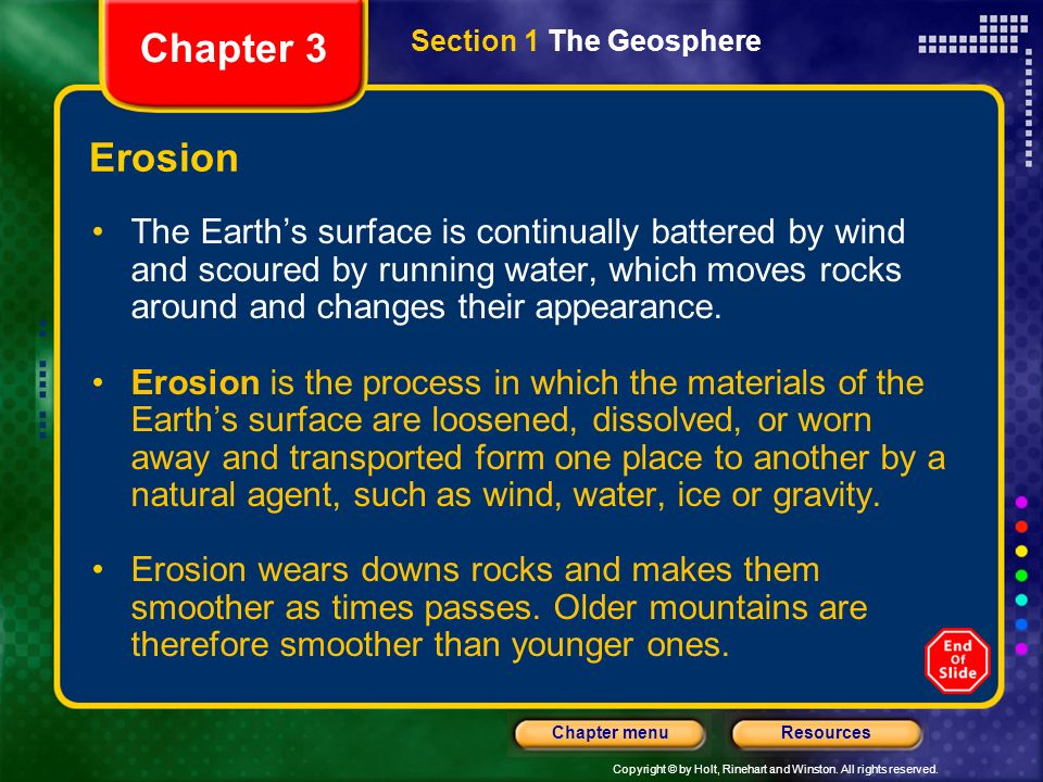 Copyright © by Holt, Rinehart and Winston. All rights reserved. ResourcesChapter menu Global Effects of Volcanic Eruptions Major volcanic eruptions ca