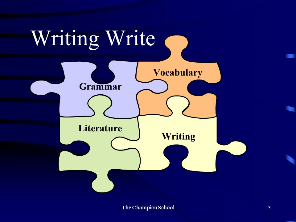 Write in the Middle We do not learn to write by writing. We develop writing style through reading. The Power of Reading by Stephen Krashen The Champio