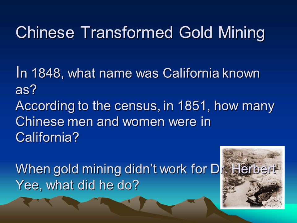Fortune Smiled On Many Black Miners.