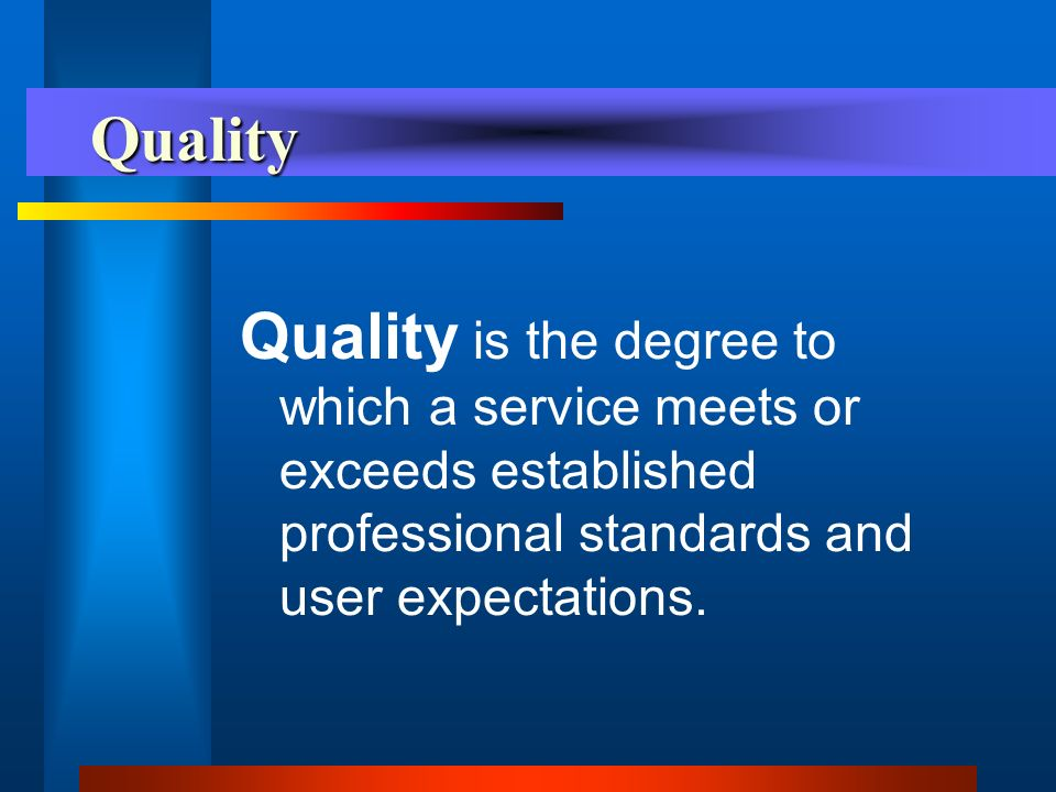Quality Management Triangle Improving Quality Measuring Quality Defining Quality QM
