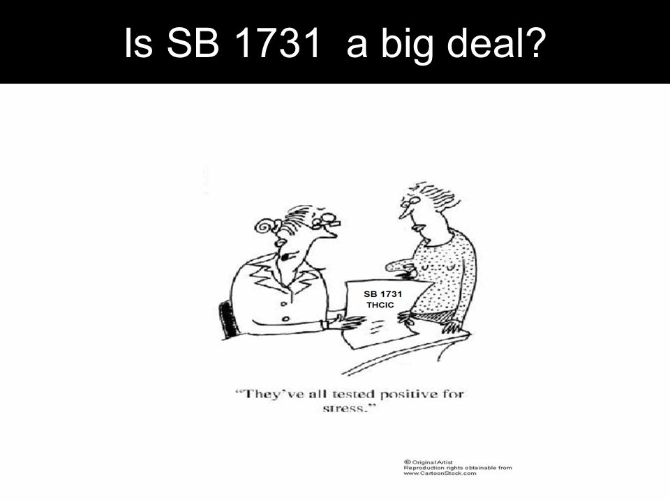 Is SB 1731 a big deal