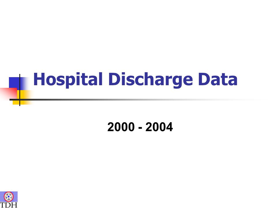 Hospital Discharge Data