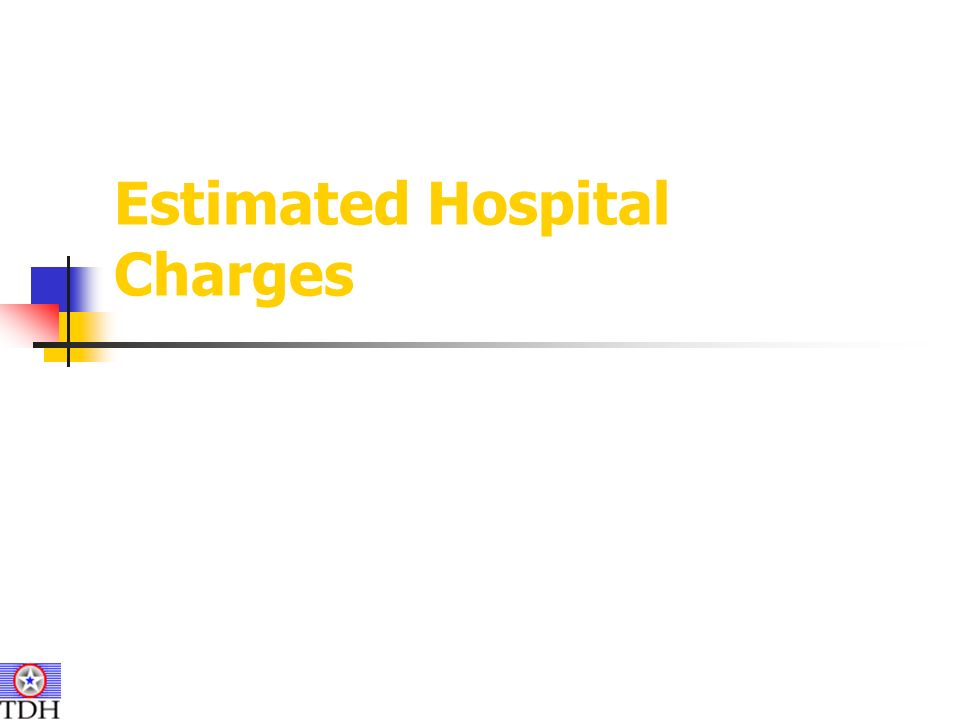 Estimated Hospital Charges