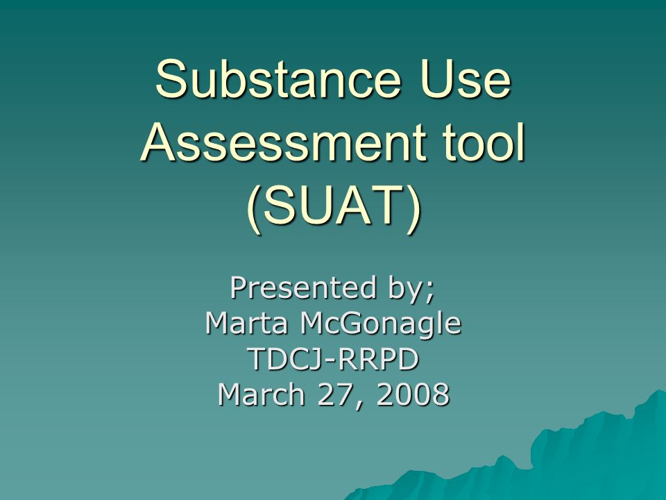 DDRAC Screening & Placement Subcommittee Formed in response to the Report to State Leadership, January 2007.