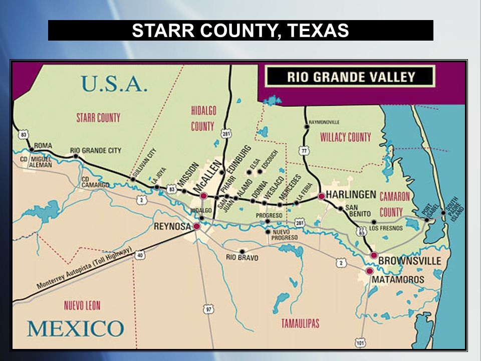STARR COUNTY, TEXAS