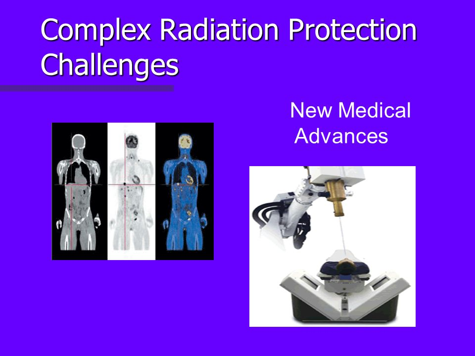 Complex Radiation Protection Challenges New Medical Advances