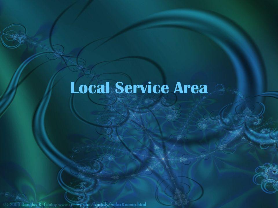 Local Service Area
