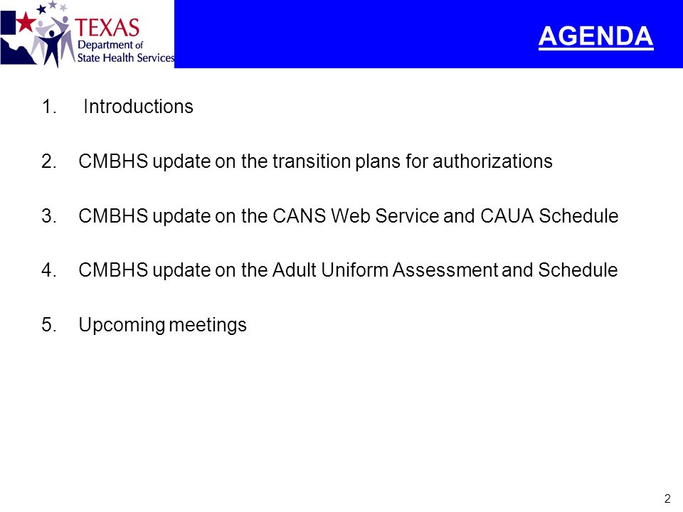 3 Open Authorization – Draft Migration Plan 1.DSHS Program staff will develop a crosswalk from RDM service packages to TRR (Texas Resiliency and Recovery) levels of care.