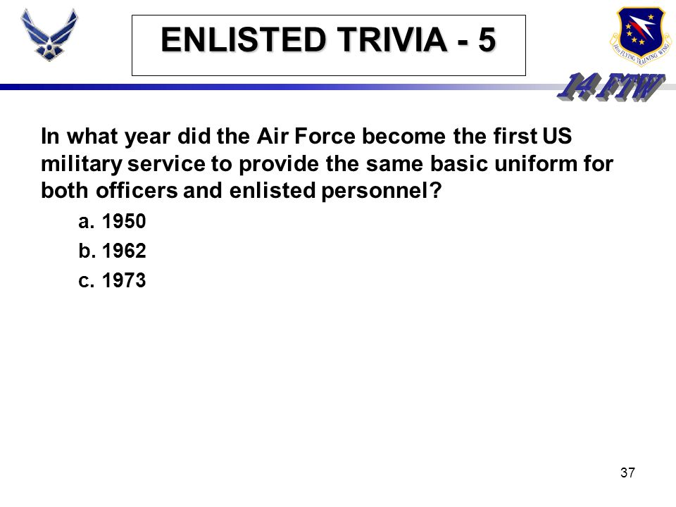 36 ENLISTED TRIVIA - 4 Who among the following was not prior enlisted? Billy Mitchell (Father strategic bombing) Jimmy Doolittle (Doolittle Raid) Eddi