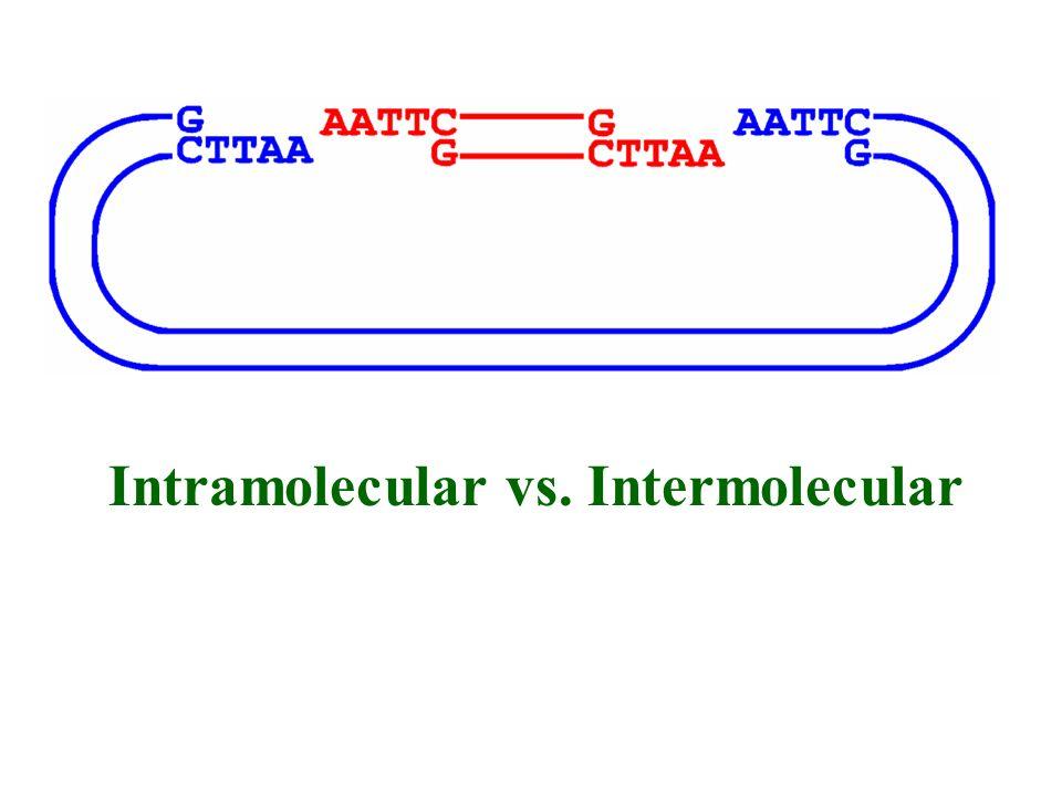 Intramolecular vs. Intermolecular